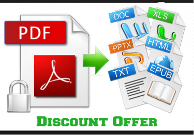 convert from PDF to Excel