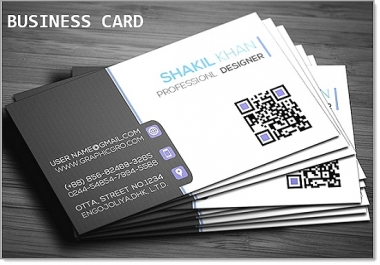 design a stunning and beautiful 2 sided business card