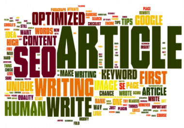 write UNIQUE and seo optimized 500 words article