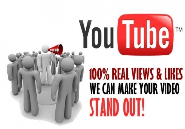 add 4001 High Quality  YouTube views