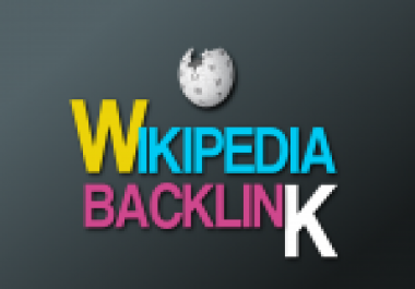 Create 1 wikipedia Backlinks Niche Relevant 100 percent Sticky