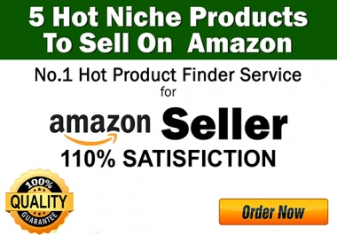 find 5 Niche Hot Products To Sell On Amazon For Good Profit
