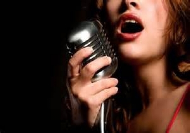 write a complete, professional, and potential hit song lyrics of any genre with vocals (and a model beat upon request for an extra $5)
