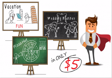 create Whiteboard Animation video