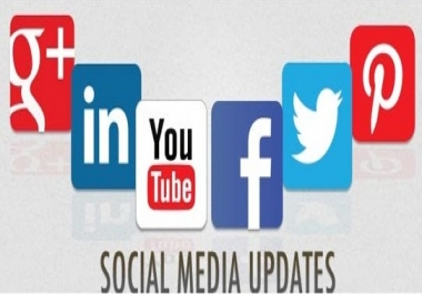 Keep your Twitter, Facebook, Linkin, Google+, etc. fan pages and accounts frequently updated with the most relevant posts in your niche; and as frequently as you demand ($5 monthly fee added)
