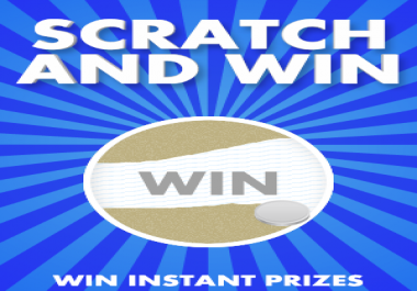 I want someone to install a HTML5 Scratch Card on my
