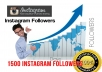 give 1400 Instagram followers Instant Promotion