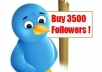 increase 3500 plus twitter real human followers in 12hours