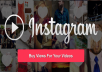 add 50,000+ instagram Video Views