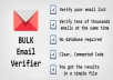 verify your bulk email list  of 15000 emails