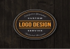 design 2 awesome logos & deliver it for 24 hours