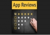 give 2 hq reviews OR 2 ratings Android app reviews
