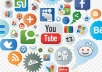 Promote You 100% All Social Mediam Marketing Services