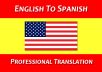 manually translate English to Spanish and Japanese