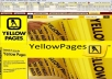 collect B2B data from yell or yellow pages