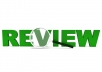 write a testimonial review for your product on any website