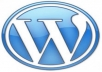 Create wordpress site and install plugin and themes and i can edit the theme as you want