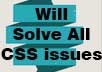 Solve CSS Errors and Problems of the Site