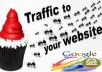 give UNLIMITED Real web Traffic for 30 days