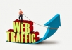 Drive 100000 Real website traffic