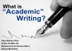 provide a 1500-word literature review of academic topics