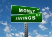 give 5 useful tips for your money management
