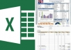 create an excel application for you