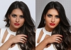 professionally Retouch and Enhance 10 images