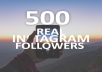 send you 500 verified Instagram accounts