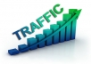send UNLIMITED HUMAN TRAFFIC BY Google Facebook Twitter Pinterest to your website for 60 days