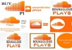 Promote your Music on SoundCloud, 750,000 Plays