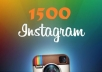 add 1500 followers instagram delivery fast