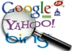 Submit your website to over 500 SEARCH ENGINES