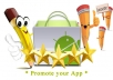 provide 10 HQ Good Comment rating on your android app