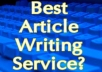 write an article of 300-500 words on any topic.