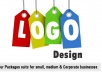 Design a simple logo for your business
