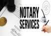 notarize a document for you within 24 hours US