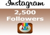 give you 2500 instagram followers