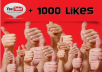 give 1000+youtube videos likes