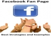 create facebook fan page for you or your company