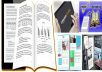 Format and layout book, ebook for createspace and kindle within 24 hours
