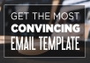 write an EFFECTIVE email for your job hunt OR introduction to an important figure or mentor