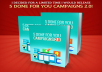 provide 5 Ready-made Max-bounty CPA Ready Campaigns to bank $1k in 30 Days.