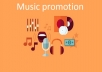 do your music promotion