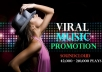 promote your music for the world to hear