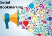 create 20 DoFollow Social Bookmark