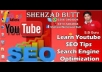 send SEO of your Youtube Video