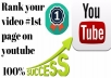 rank your youtube video on 1st page
