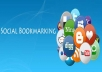 manual Authority Backlinks from 15 PR4 to PR9 Social Bookmarking Sites