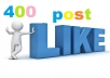 promote your facebook post 4000 Like in 24 hrs